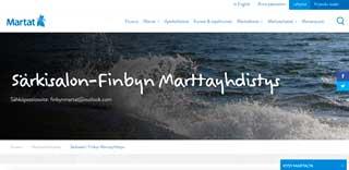 Särkisalon-Finbyn Marttayhdistys ry